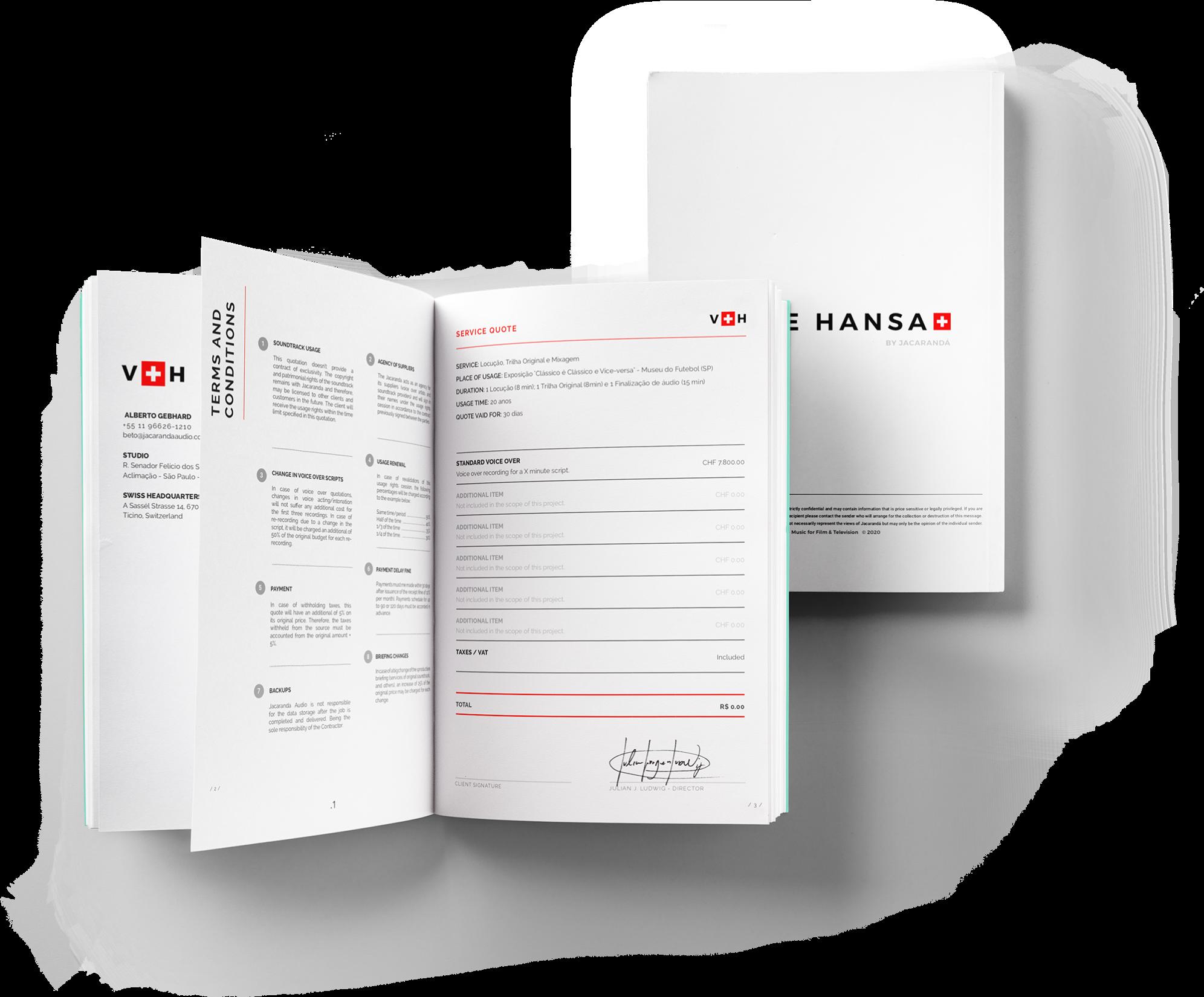 Voice Hansa - Voice-over Agency based in Switzerland