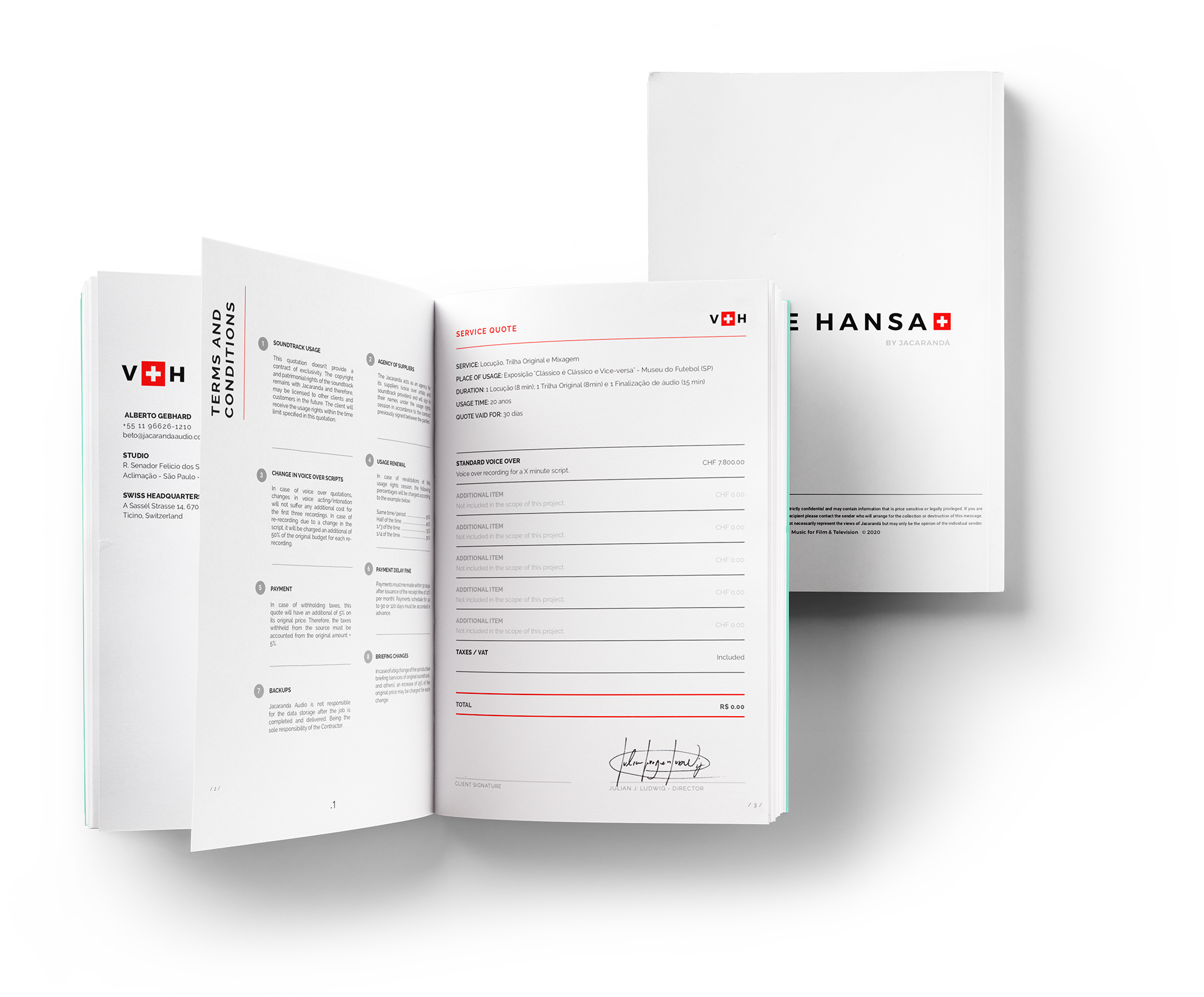 Voice Hansa - Voice-over Agency based in Switzerland